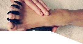 Hot Stone Reflexology Treatment